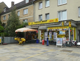 Der Stellinger Post-Shop in der Kieler Str. 383
